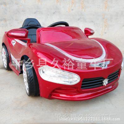 新款玛莎拉蒂儿童电动车带遥控小孩宝宝可坐四轮汽车双驱玩具童车
