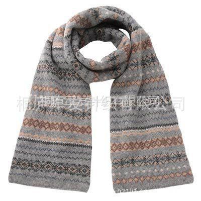 厂家直接供应2013年***时髦款提花保暖围巾