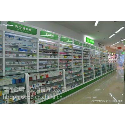 石家庄专业制作药柜/形象柜/柜台/烤漆展柜/货架