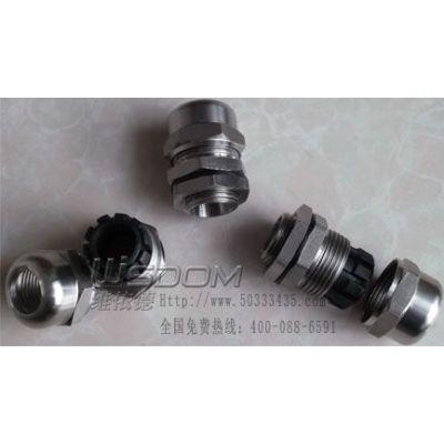 供应供应维依德不锈钢电缆防水接头PG63联系:刘18012656355