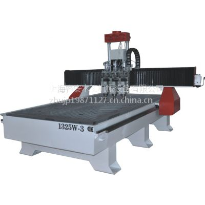 上海木工设备厂家出售、高效率木工三工序雕刻机、木门平面雕刻机、