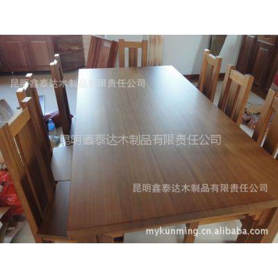 供应纯柚木餐桌椅/高档缅甸纯柚木家居/实木家具/桌椅