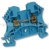 供应原装进口WEIDMULLER - 102008 WDU2.5 BLUE - 端子,DIN 蓝色