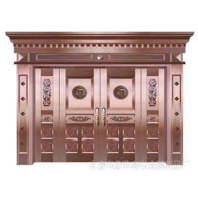 热销供应时尚精雕铜门优质别墅别墅专用铜门