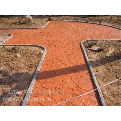 溧阳市混凝土压模地坪、混凝土压模地坪(鹤权工程承包)