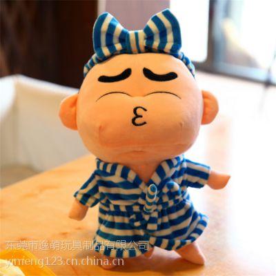 卡通动漫睡衣蜡笔小新布艺玩偶批发儿童玩偶可定制