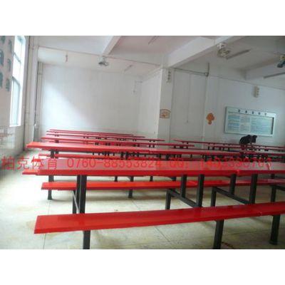 供应江西工地员工食堂餐桌椅连体餐桌椅外美质优直销珠三角地区
