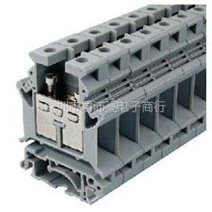 供应君沛亮电子UK16N-16平方灰色导轨式接线端子