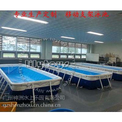 成人支架泳池维护、广州成人支架泳池、神洲水上乐园