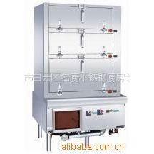 供应三门海鲜蒸柜,三门海鲜蒸炉,厨房设备,炉具系列
