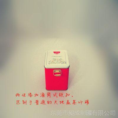 凤岗制罐厂定做铁罐子 红茶铁罐包装 多款带锁马口铁茶叶铁罐包装
