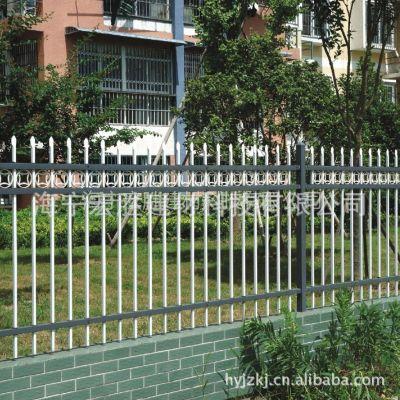 供应批发热镀锌钢围墙栏杆,静电喷涂标准围墙栅栏,围墙护栏