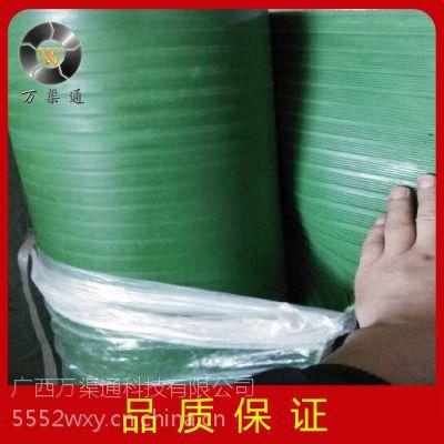 优质防滑耐油石棉橡胶板绿沟胶板 绿色条纹防滑胶板