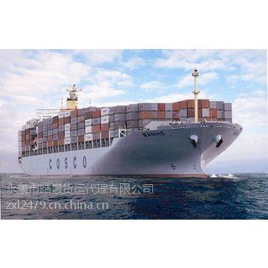 珠海到江苏苏州海运货物集装箱价格是多少