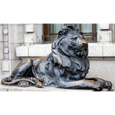 世隆雕塑,黑龙江纯铜对狮,纯铜对狮雕塑厂