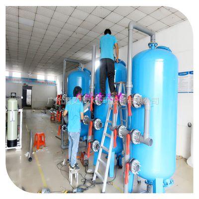 厂家直销中山市大流量石英砂碳钢过滤器 有效拦截颗粒悬浮物 品质保证