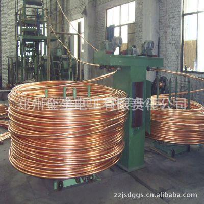 供应无氧铜杆、紫铜管、TU1/TU2铜带 上引法金属成型设备