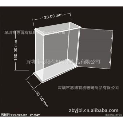 供应定制加工各种亚克力盒 纸巾盒 名片盒 商品盒 亚克力加工