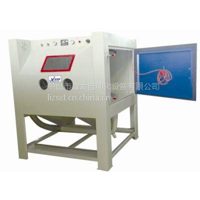 供应厂家直供各式手动干式喷砂机 ,清理表面专家