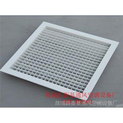 厂家直销铝合金风口 防雨百叶窗风口 可调式百叶风口 空调出风口