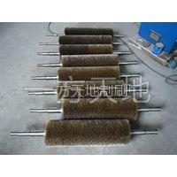 一方天地制刷厂定制钢丝缠绕刷辊 尼龙丝刷辊 抛光工具刷密度高