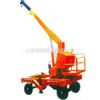 供应升霸SD型3T液压旋转电动吊车 移动旋转小型起重机 电动小吊车