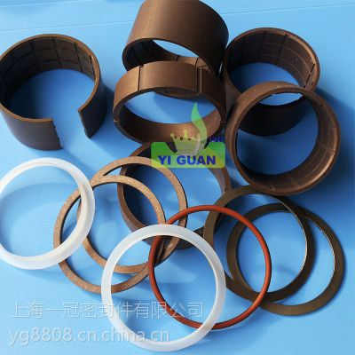 供应上海一冠四氟铜粉低温泵刮霜器 低温泵进口密封圈配件报价