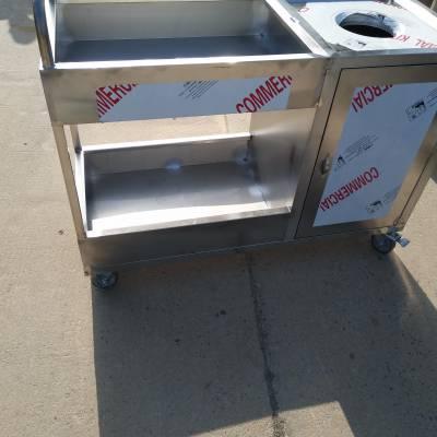 双丰食堂专用推残车 学校垃圾车
