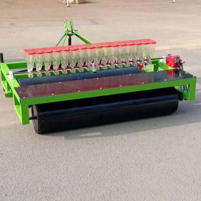 南昌市苜蓿播种机 富兴小颗粒施肥点播机 高效多行玉米播种机厂家型号
