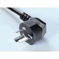 供应国标电源线,烟头插头H05VV-F 3*0.75MM2