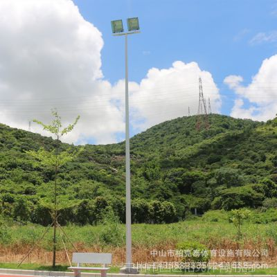 广东学校球场照明灯杆 道路照明路灯 热镀锌灯管 厂家直销