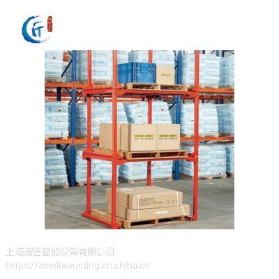 巧固架仓储货架堆垛架堆叠架堆高架折叠货架钢制B型C型