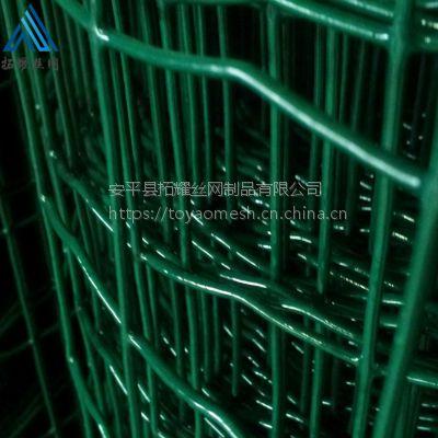 散养鸡围栏 绿色防护荷兰网生产厂家