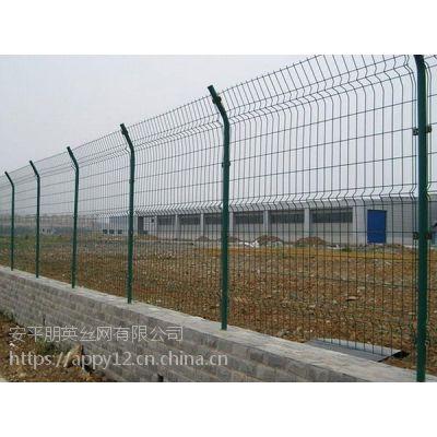 厂家现货直销 双边围栏网 学校隔离栏 园林围栏网 双边铁丝网围栏