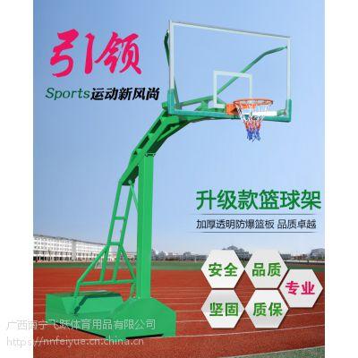 篮球架成人户外比赛学校落地式室外标准移动室内安全加固型篮球架《南宁飞跃专营店》