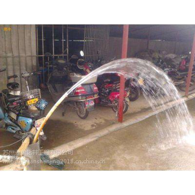 德清井点降水,大口径管井降水,设备好降水快