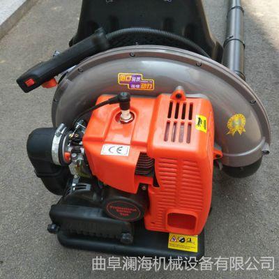 高效率汽油吹风机 路面杂物清理机 澜海吹风机价格