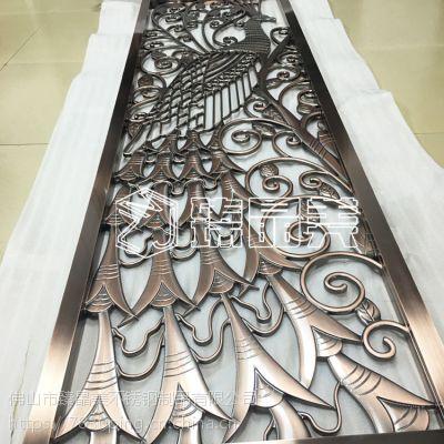定制不锈钢铝材雕花不锈钢雕刻屏风质量保证