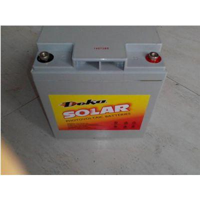 德克蓄电池12v 50ah 蓄电池 图片