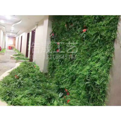 仿真植物墙厚好看还是稀一点好看呢?