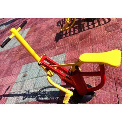 义发体育供应涿州室外健身器材单人健骑机