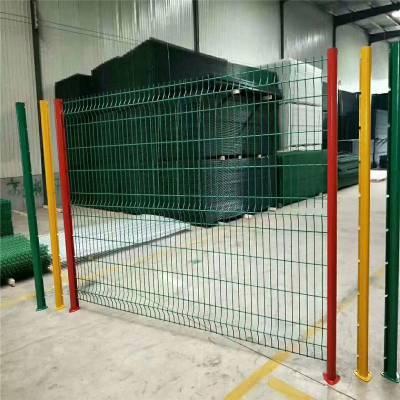 公路围栏网生产 围墙栅栏生产厂家 厂区护栏网