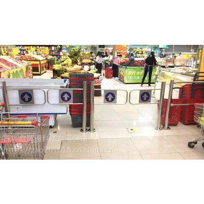 红外/雷达全自动超市感应门,超市单向入口防盗感应门