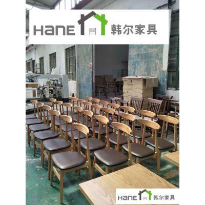 南京餐厅椅子尺寸 餐厅椅子批发 韩尔现代工厂直销