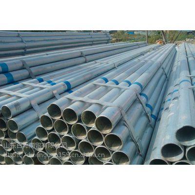 天津消防用Q345镀锌管价格,友发牌热镀锌钢管生产厂家