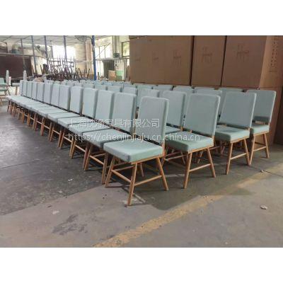 上海自助餐厅日式桌椅 西餐厅实木桌子 咖啡厅软包椅定制
