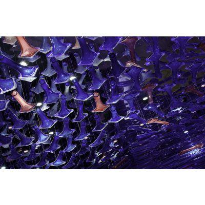 专业定制休闲娱乐场所艺术装饰玻璃灯 手工玻璃LED灯