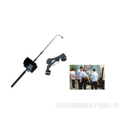 1080P 全高清视频式车底检查镜(双镜头,万向轮,2米伸缩杆)