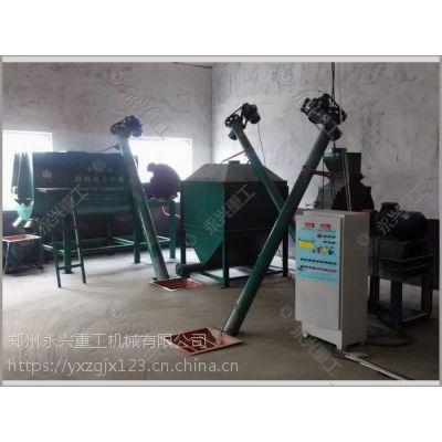 郑州永兴牌小型饲料粉碎生产线 饲料生产设备