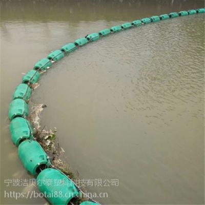 取水口拦污网浮漂活动式拦污装置厂家